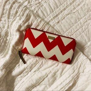 Chevron Kate Spade Wallet